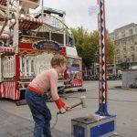 Nostalgische kermis in Antwerpen B - Reuzenrad en kop van Jut