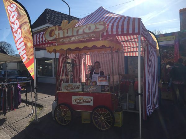 Spaanse Churros kraam 2
